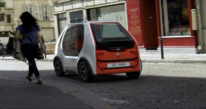 Renault Ez-Pod: Hızlı Ulaşım Ve Kurye Hizmetine Yönelik Konsept Araç