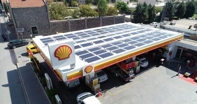 Shell & Turcas Enerjisini Güneşten Alan İstasyon Sayısını 3'e Çıkardı