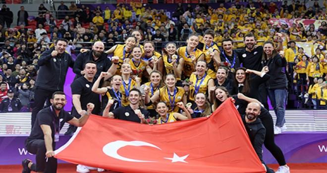 Sponsor FSM Demirbaş, Şampiyon Vakıfbank Kadınlar