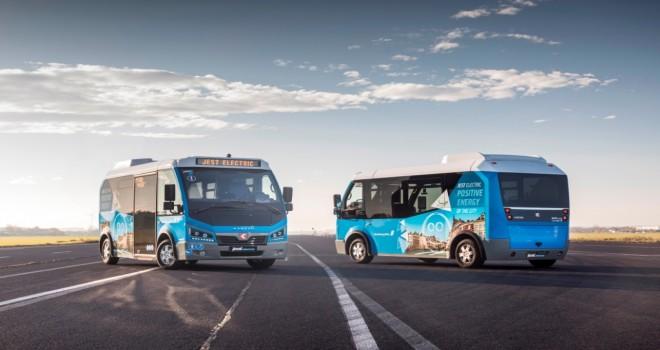 Türkiye'den Avrupa'ya Elektrikli  Minibüs İhracatı