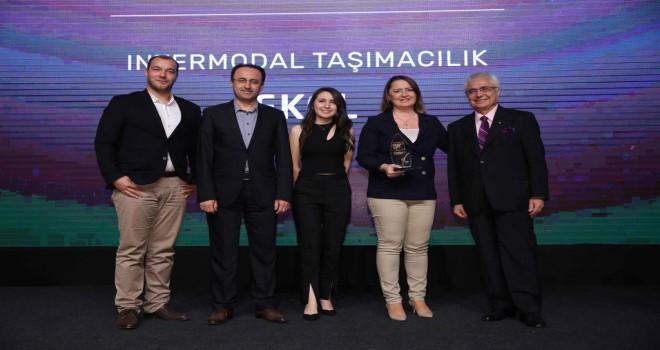 Ekol'ün Intermodal Taşımacılık Modeline Ödül