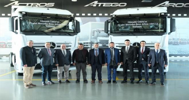 Mercedes-Benz Türk'ten 25 Adetlik Actros Teslimatı