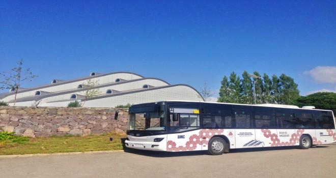BMC'nin otobüsü ile Baksı Müzesi'ne