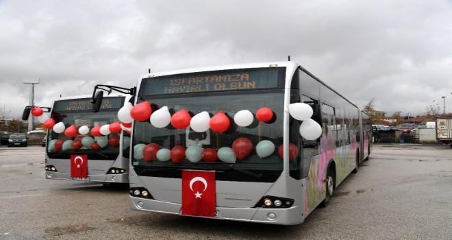 Isparta Otobüs Filosu Büyüyor