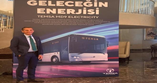 TEMSA'nın MD9 Electricity Aracı Avrupa Yollarına Çıkıyor