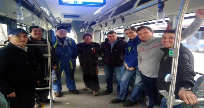 Anadolu Isuzu Köstence Belediyesine Romanya'da Eğitim Düzenledi