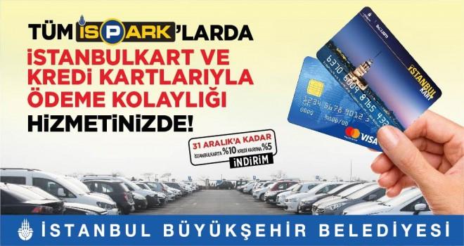 İspark'ta Kartlı Ödeme Başlıyor