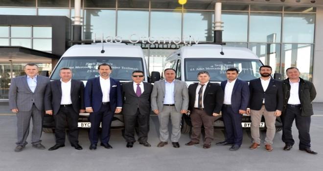 Mercedes-Benz Türk, 61 Adet Sprinter İle Sesli Turizm'in Filosunu Güçlendirdi