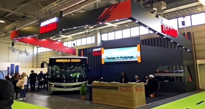 Anadolu Isuzu Bus2Bus Berlin Fuarı'na Novociti Life Midibüsü İle Katıldı