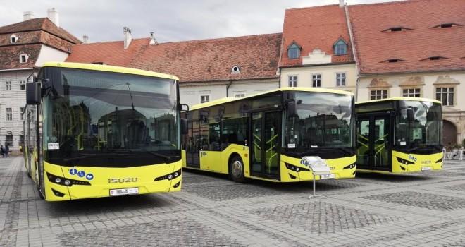 Anadolu Isuzu Romanya'nın Sibiu Şehrine 38 Araç Teslimatı Gerçekleştirdi