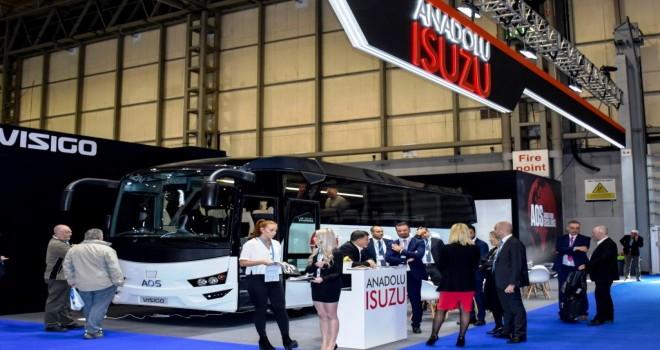 AOS İlk Sağdan Direksiyonlu Otobüsünü  Euro Bus Expo Fuarı'nda Sergiledi