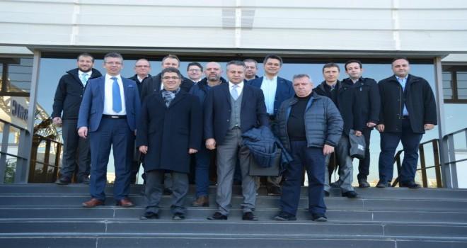 Eskişehir Büyükşehir Belediyesi, BMC Fabrikasını Ziyaret Etti
