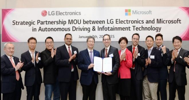 LG İle Otomobil Devrimi