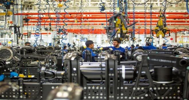 Ocak'ta Üretim Yüzde 12 Azaldı