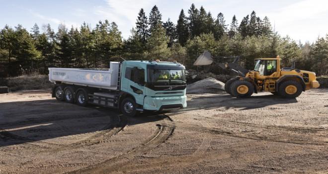Volvo Trucks, Ağır Hizmet Tipi Elektrikli Konsept Kamyonlarını Görücüye Çıkardı
