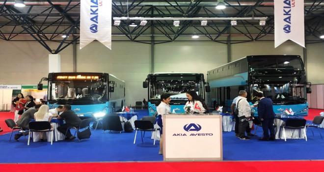 Busworld Almatı'ya AKIA Çıkarması