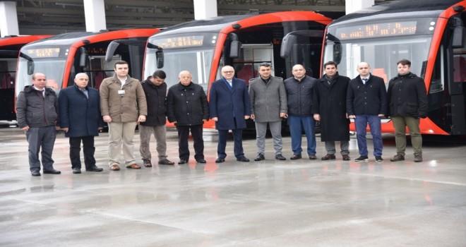 Yeni Yılda Elektrikli Otobüsler Geliyor