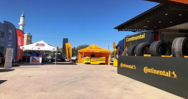 Continental Kamyon Kooperatifleri Roadshow'u Başladı