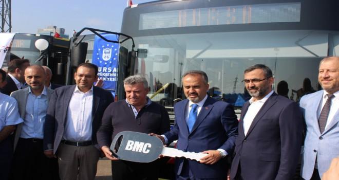 FSM Demirbaş Bursa'yı Otobüsleri İle Donatıyor