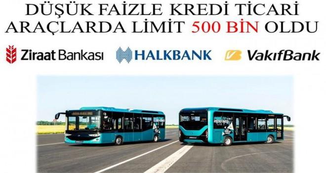 Otobüslerde Şok Faiz