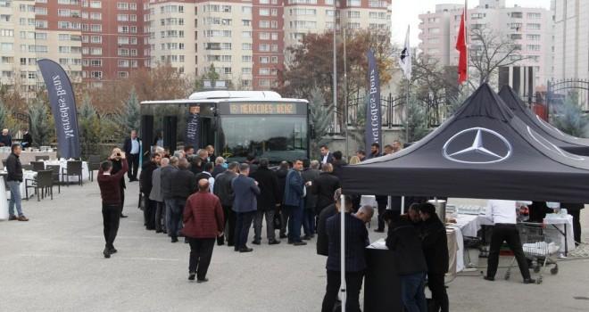 Mercedes-Benz Conecto, Ankara Esnafıyla Buluştu