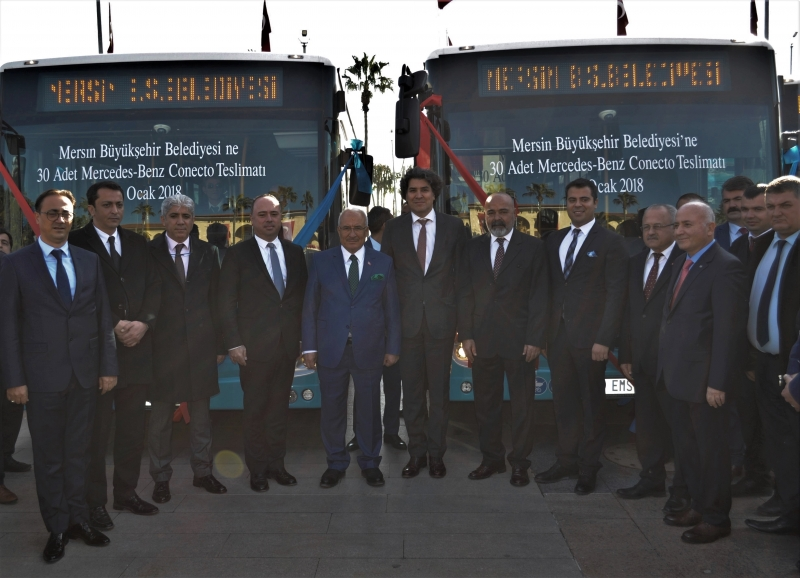 MERSİN'E 30 ADET CONECTO