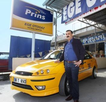 LPG'li Taksi ile  1 Milyon Kilometre