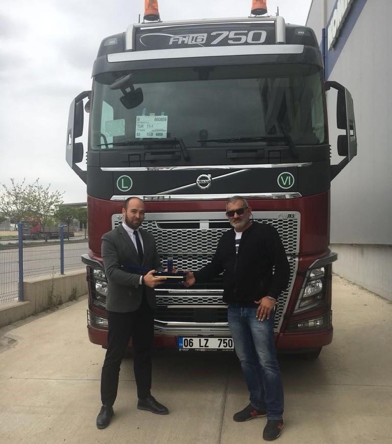 SNH İNŞAAT'A VOLVO TRUCKS FH 750 6X4 TESLİMATI